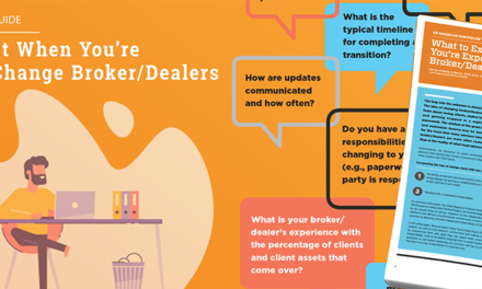 What to Expect When You're Expecting to Change Broker/Dealers